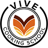 vive cooking school logo black