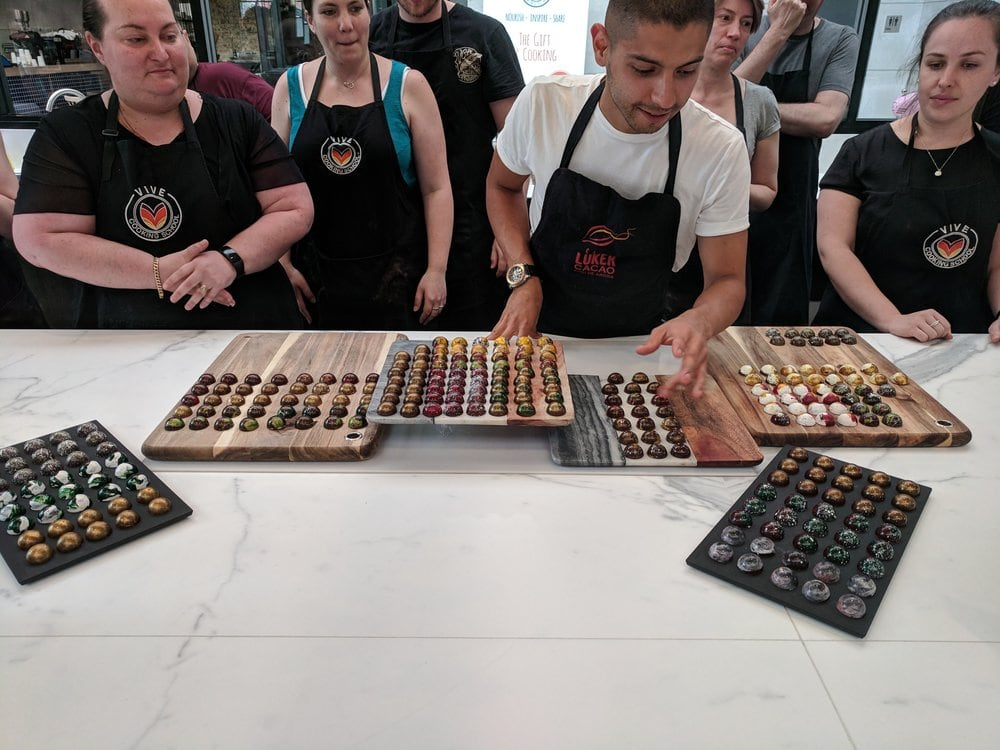 CHOCOLATE BONBONS WORKSHOP WITH ESTI GARCIA 16