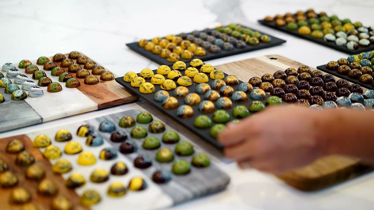 CHOCOLATE BONBONS WORKSHOP WITH ESTI GARCIA 2