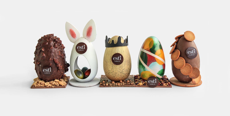 CHOCOLATE EASTER EGG WORKSHOP WITH ESTI GARCIA 1