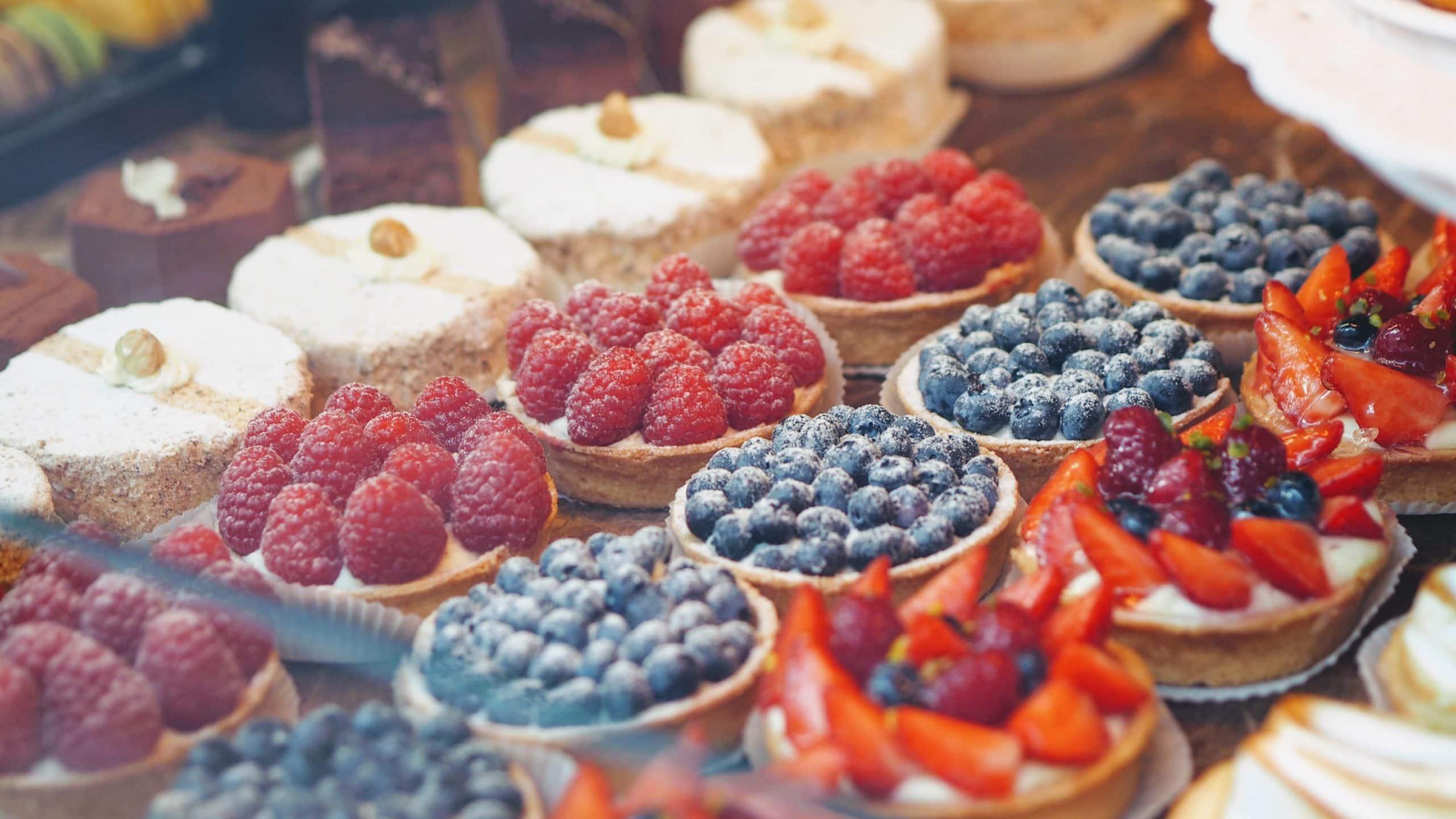 VIVE Cooking School Berry Tart
