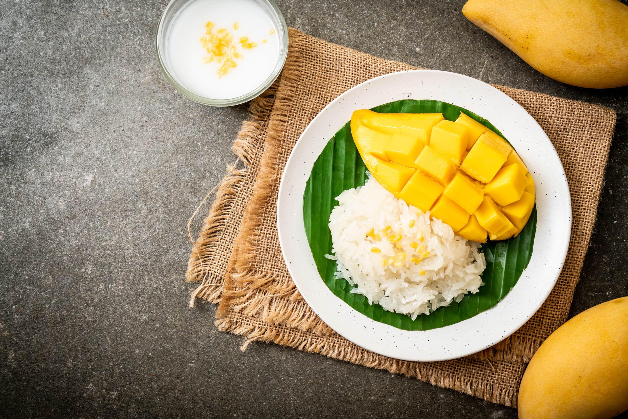 Mango Sticky Rice Phuket