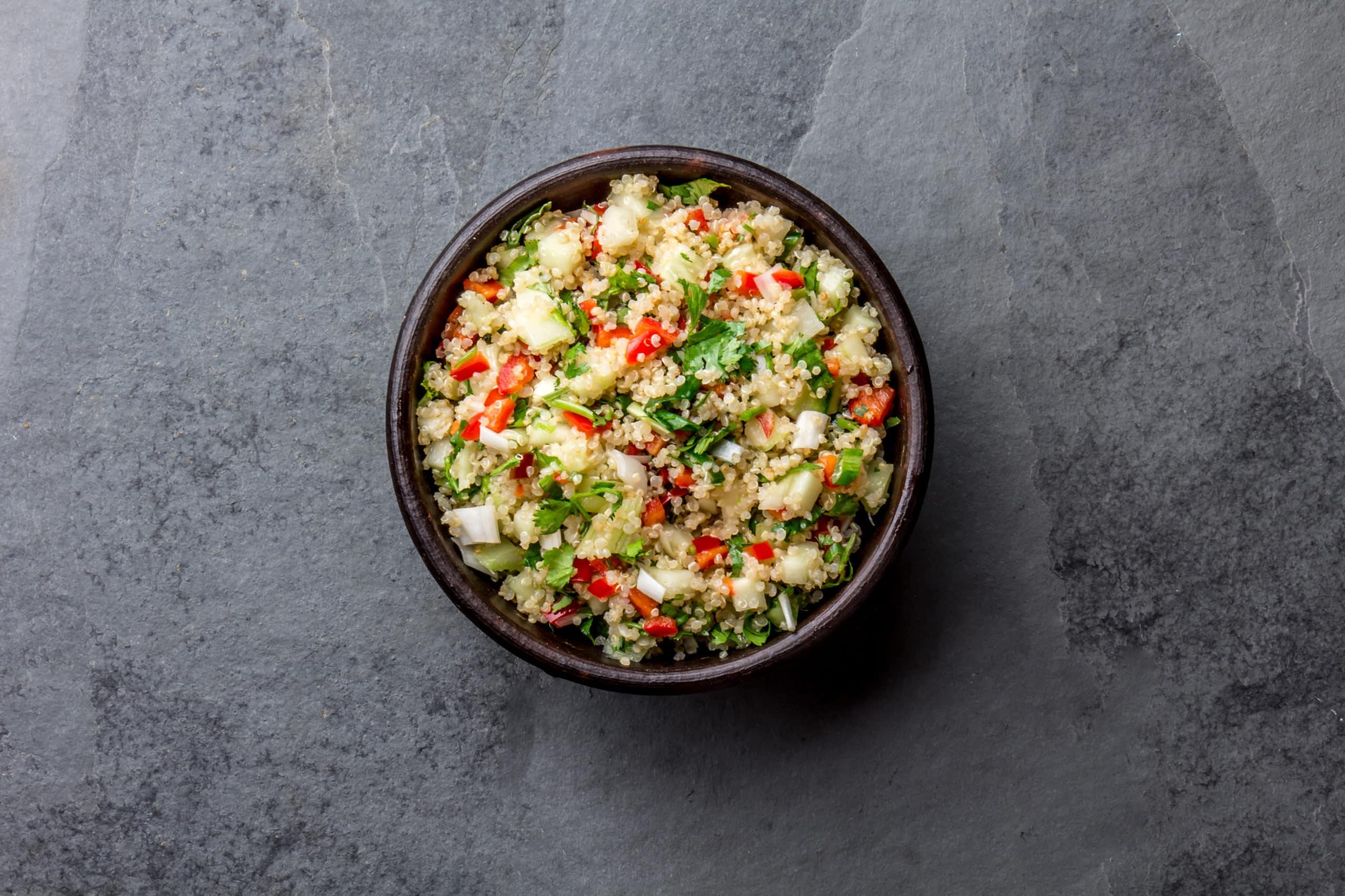 Quinoa Salad Vegetarian Feast