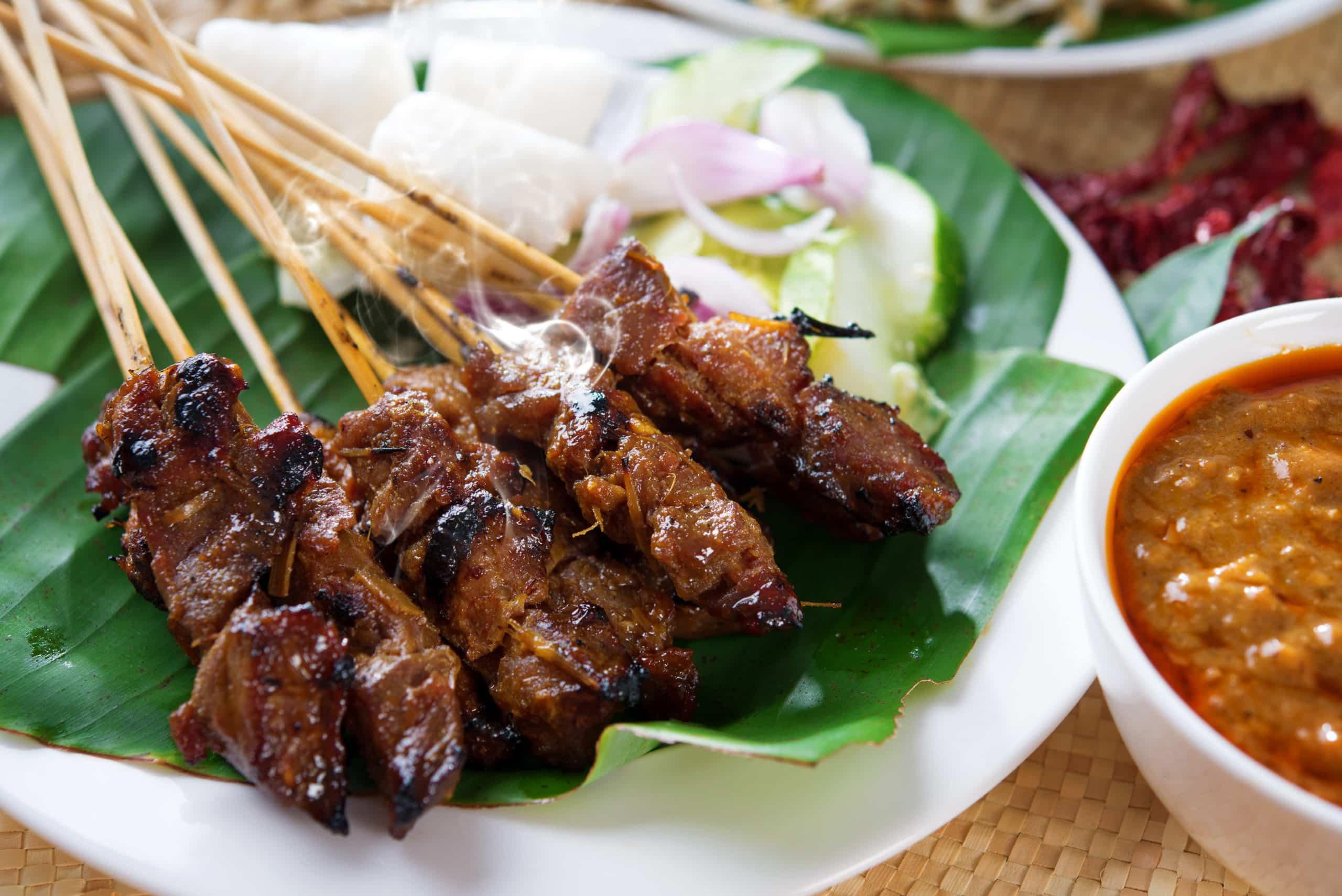 Sate Beef Asian Street Food
