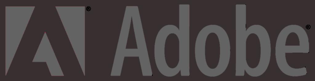Adobe 01 Logo Png Transparent Grey