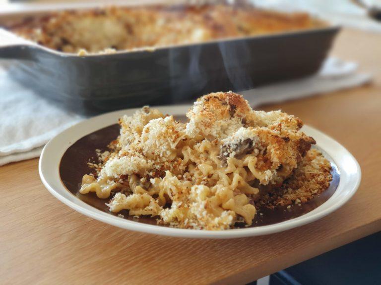 Mac&Cheese served